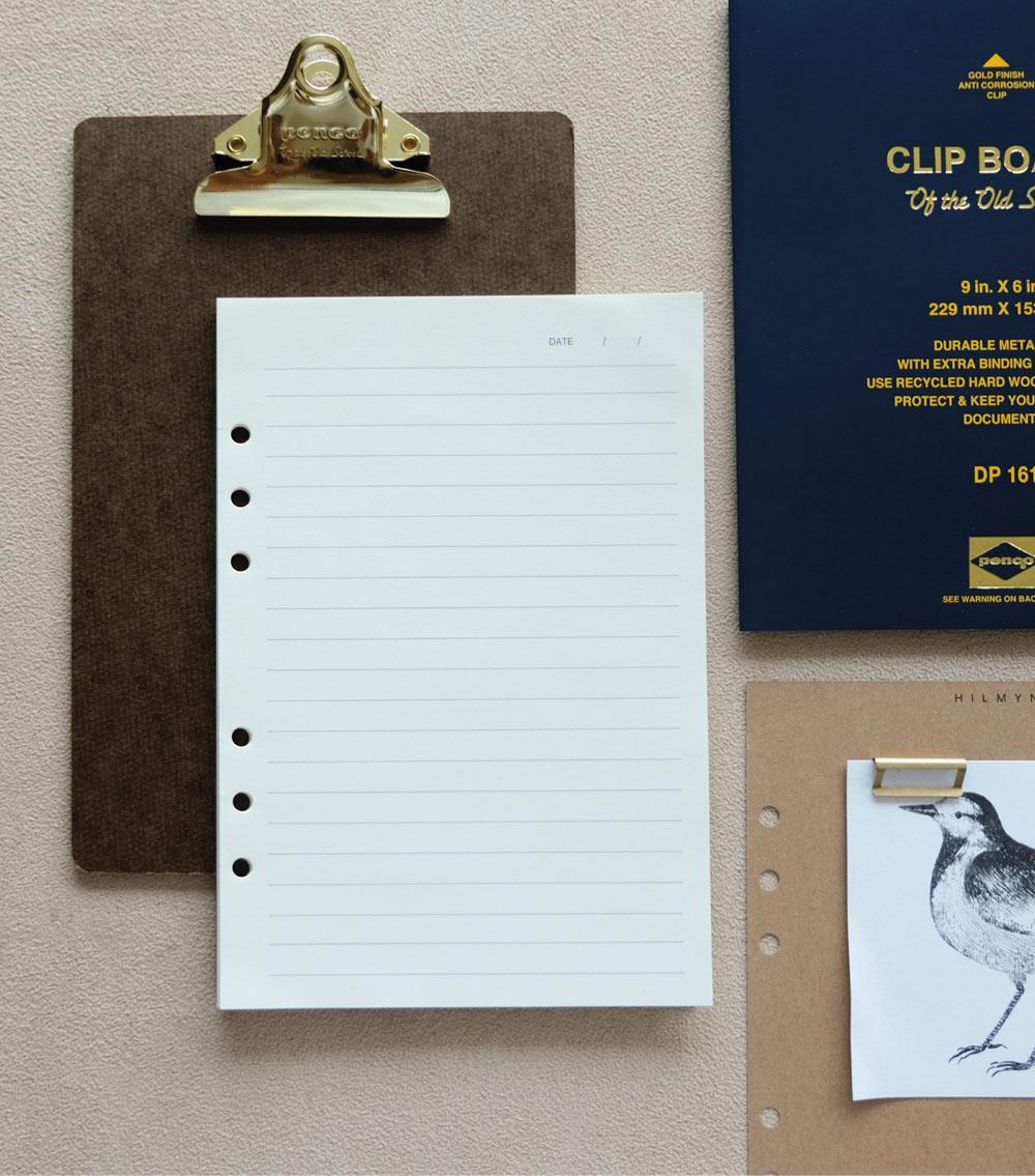 กระดาษรีฟีวสมุดบันทึก a5 planner-3