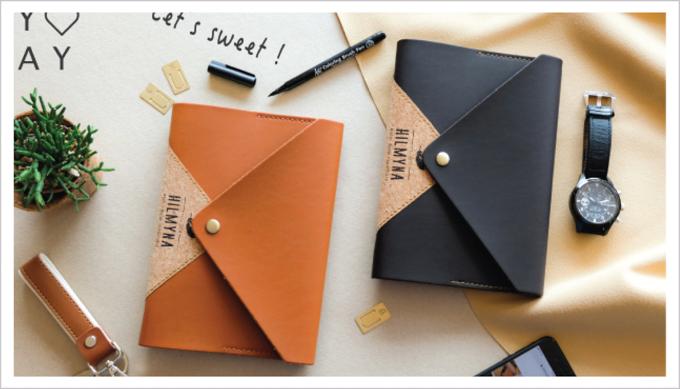สมุดบันทึกปกหนัง สลักชื่อ handmade notebook สินค้าพรีเมี่ยม - catagory-3